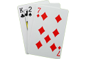 baccarat winning hand